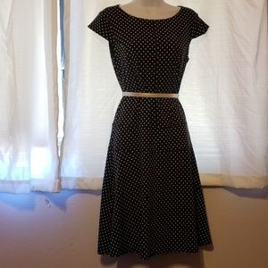 Joseph Ribkoff Polka Dot Vintage Dress  Size 8